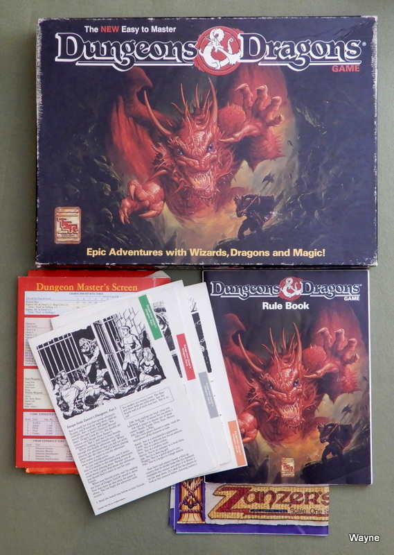 Image for The NEW Easy to Master Dungeons & Dragons - INCOMPLETE