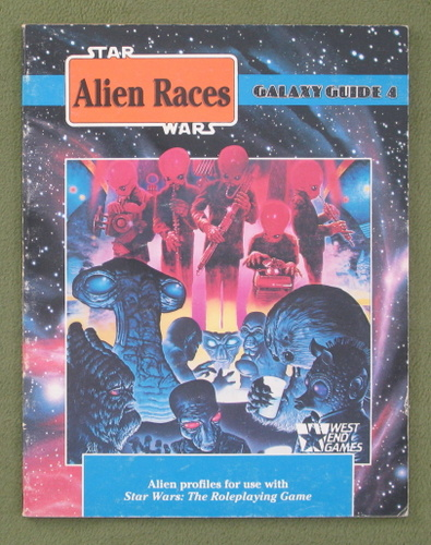 Image for Alien Races: Galaxy Guide 4 (Star Wars Roleplaying Game)