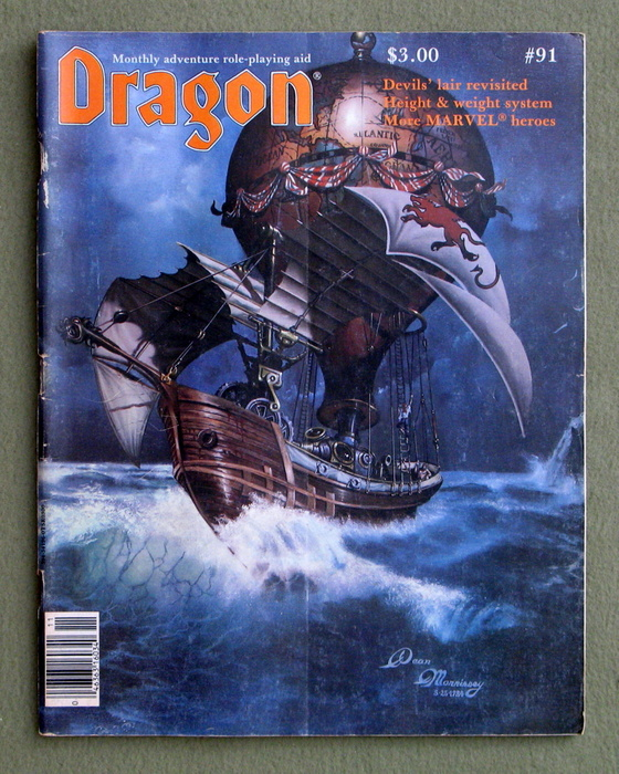 Image for Dragon Magazine, Issue 91