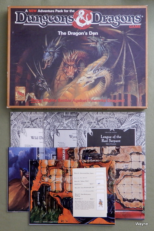 Image for Dragons' Den Adventure Pack (Dungeons and Dragons Game) - INCOMPLETE
