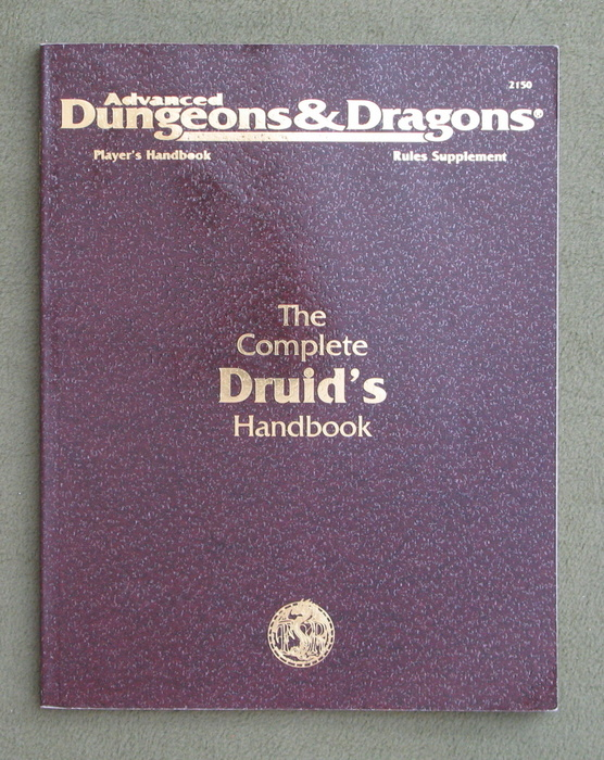Image for The Complete Druid's Handbook (Advanced Dungeons & Dragons: Rules Supplement)