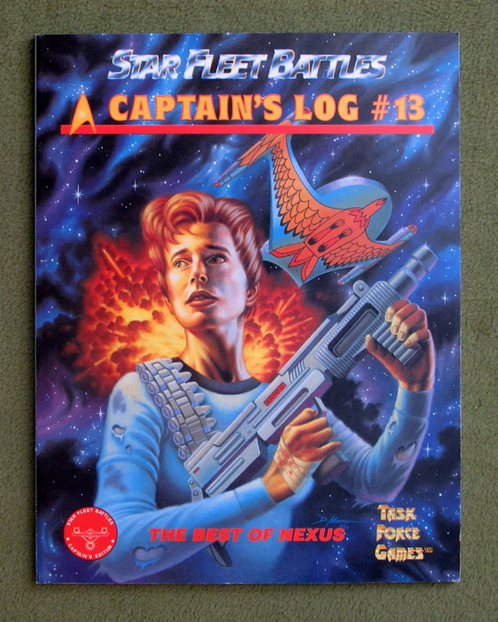 Image for Captain's Log #13 (Star Fleet Battles)