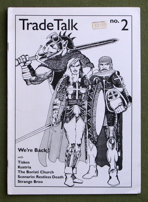 Image for Tradetalk, Issue 2 (The Chaos Society Magazine: Glorantha, Hero Wars, HeroQuest, RuneQuest)