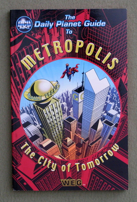 Image for The Daily Planet Guide to Metropolis (DC Universe RPG)