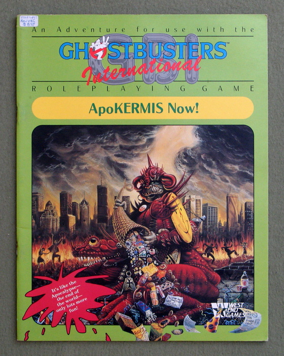 Image for ApoKERMIS Now! (GBI: Ghostbusters International RPG)