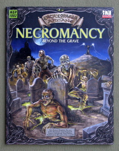 Image for Necromancy: Beyond The Grave (Encyclopaedia Arcane: D20 System)