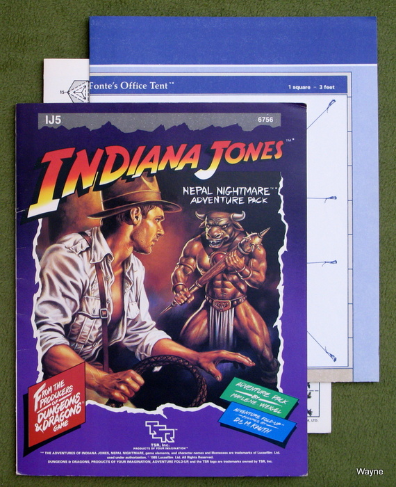 Image for Nepal Nightmare (Adventures of Indiana Jones Module IJ5)