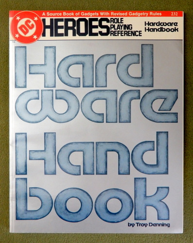 Image for Hardware Handbook (DC Heroes RPG)