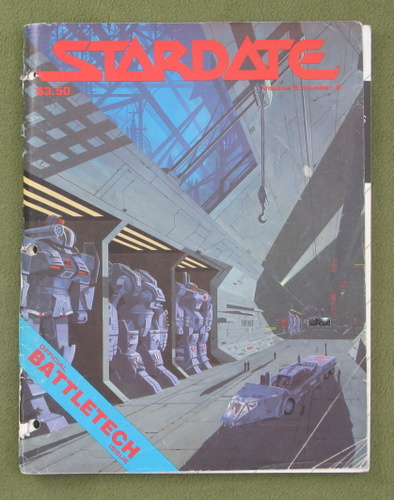 Image for Stardate Magazine, Vol. 3, No. 2 - READING COPY