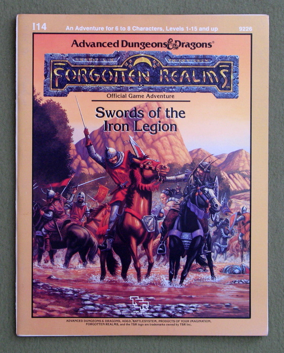 Image for Swords of the Iron Legion: Module I14 (Advanced Dungeons & Dragons Battlesystem Adventure Anthology)
