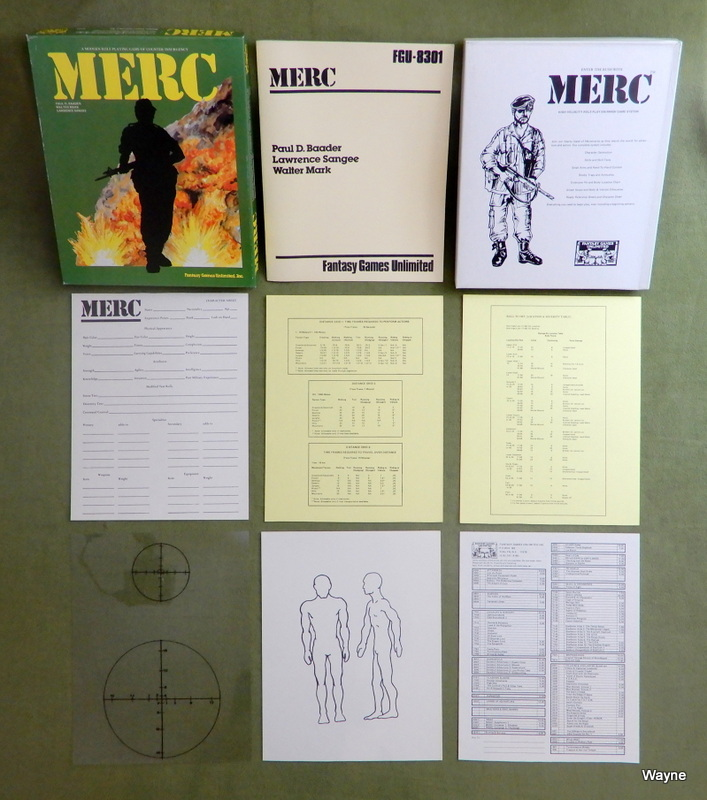 Image for MERC: A Modern Role Playing Game of Counter Insurgency