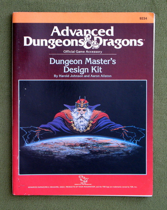 Image for Dungeon Master's Design Kit (Advanced Dungeons & Dragons Accessory)