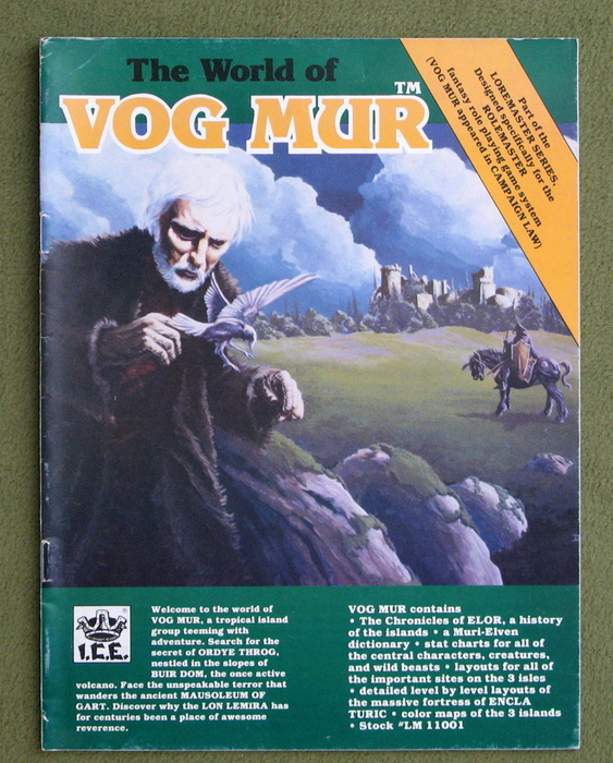 Image for The World of Vog Mur (Loremaster/Rolemaster)
