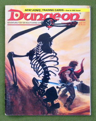 Image for Dungeon Magazine, Issue 34 - PLAY COPY