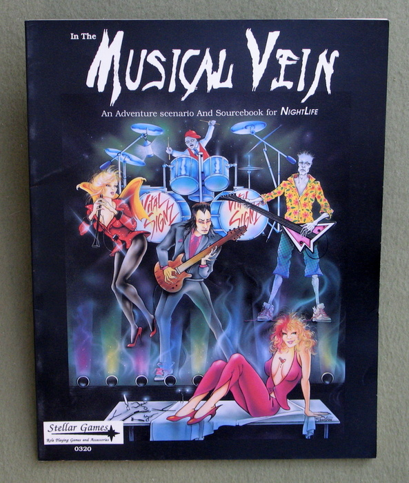 Image for In the Musical Vein (An Adventure Scenario and Sourcebook for NightLife)