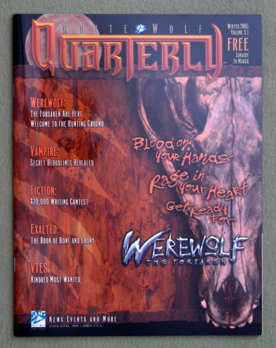 Image for White Wolf Quarterly / Sword & Sorcery Volume 3.1 (Winter 2005)