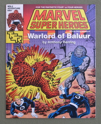 Image for Warlord of Baluur (Marvel Super Heroes module MSL2)