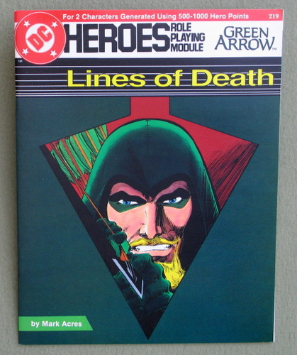 Image for Lines of Death (DC Heroes RPG)
