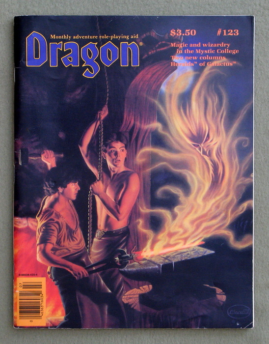 Image for Dragon Magazine, Issue 123