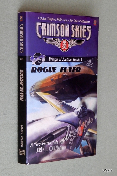 Image for Crimson Skies: Rogue Flyer (Wings of Justice: Book 1)