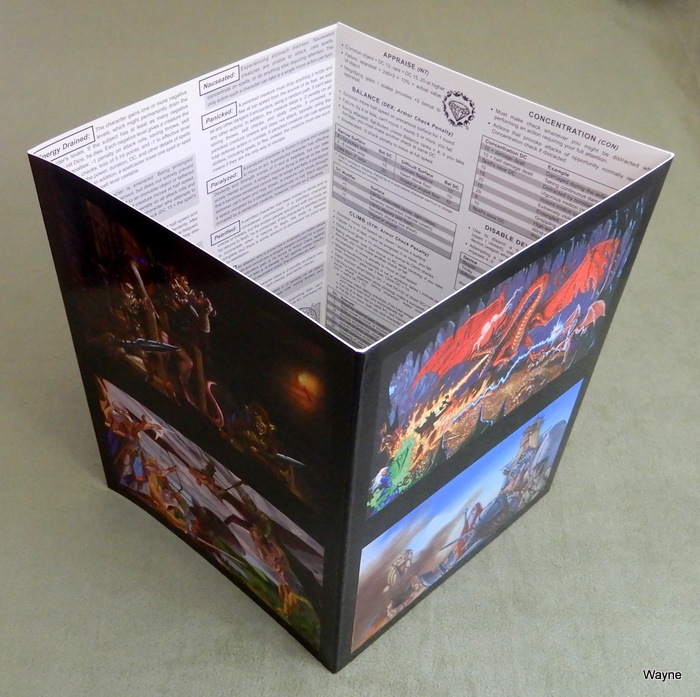 Image for Dungeon Crawl Classics: DM Screen (Dungeons & Dragons D20 System, 3.5 edition)