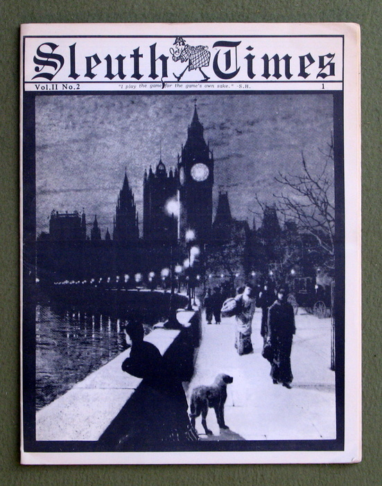 Image for Sleuth Times, Vol II No. 2 (Sherlock Holmes Consulting Detective)