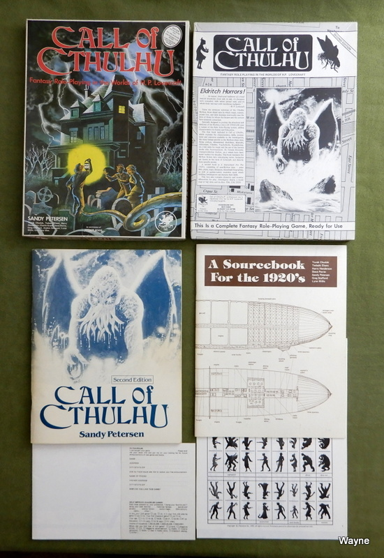 Image for Call of Cthulhu (2nd Edition) - PLAY SET