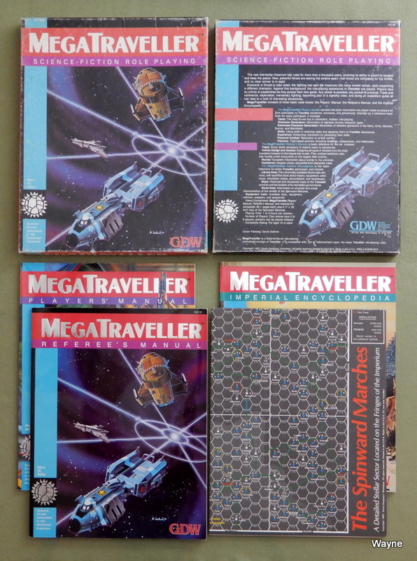 Image for MegaTraveller: Science Fiction Role Playing