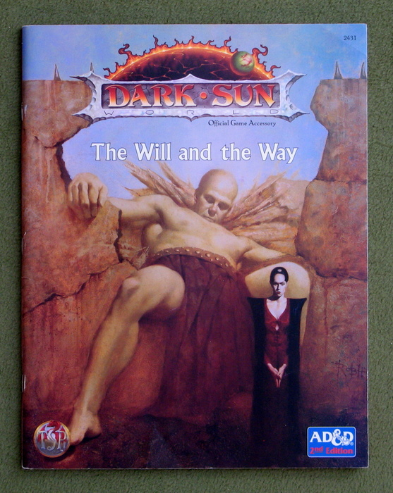Image for The Will and the Way (Advanced Dungeons & Dragons: Dark Sun)