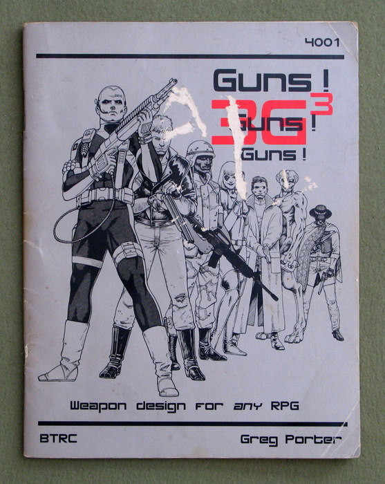 Image for 3G3: Guns, Guns, Guns - Weapon design for any RPG (3rd Edition) - PLAY COPY