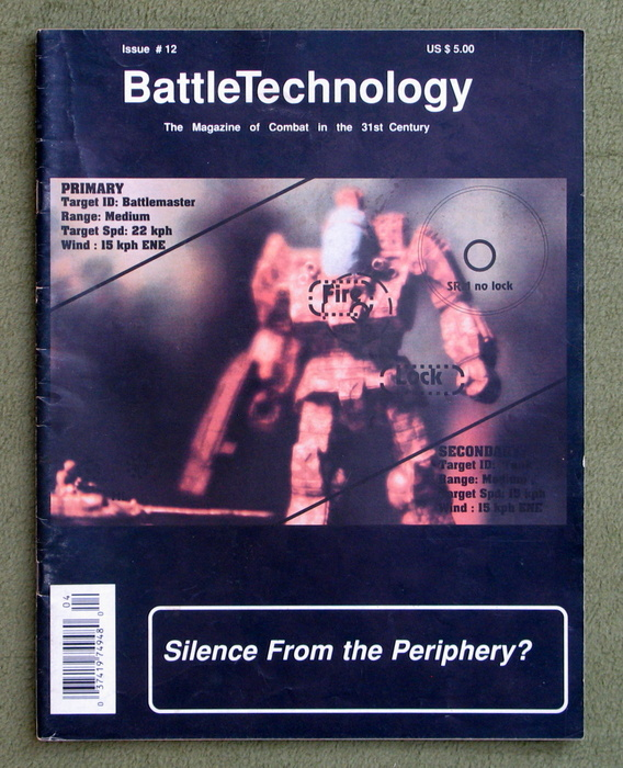 Image for BattleTechnology Magazine, Issue 12 (Battletech)