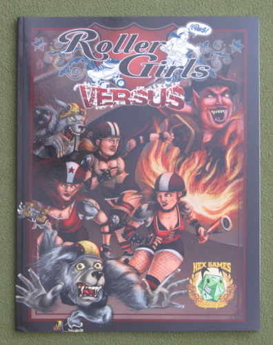 Image for Roller Girls Versus (QAGS: Quick Ass Game System)