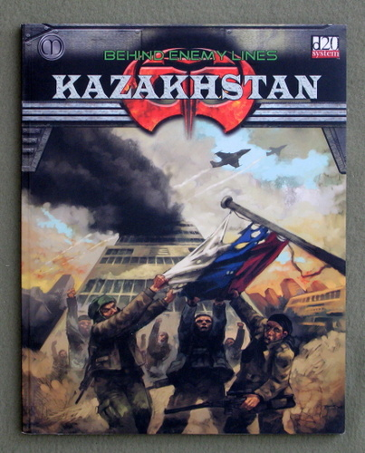 Image for Kazakhstan: Behind Enemy Lines (Armageddon 2089 d20 Roleplaying Game RPG)