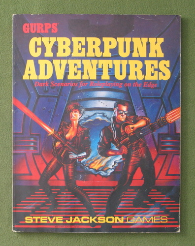 Image for GURPS Cyberpunk Adventures - POOR