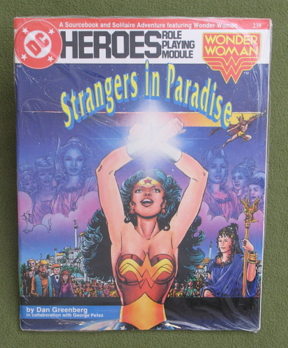 Image for Strangers in Paradise (DC Heroes Role-Playing Module Featuring Wonder Woman)