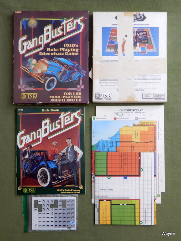 Image for Gangbusters: 1920's Role-Playing Adventure Game - PLAY SET