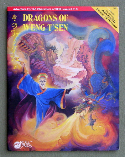 Image for Dragons of Weng T'sen (Advanced Dungeons & Dragons: Role Aids)