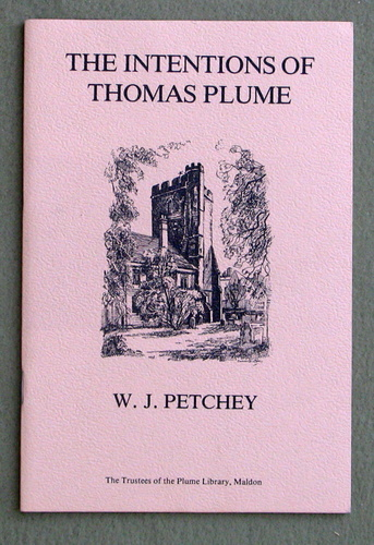Image for The Intentions of Thomas Plume: Based on the 1981 Plume Lecture