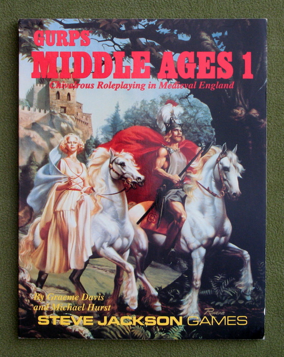 Image for GURPS Middle Ages 1: Chivalrous Roleplaying in Medieval England