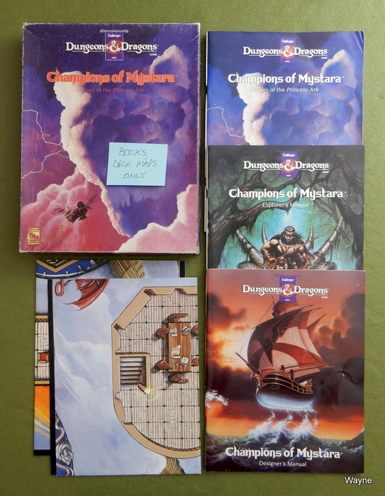Image for Champions of Mystara (D&D) - BOOKS, DECK MAPS ONLY