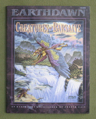 Image for Creatures of Barsaive: An Earthdawn Sourcebook