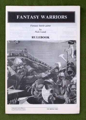 Image for Fantasy Warriors: Rulebook