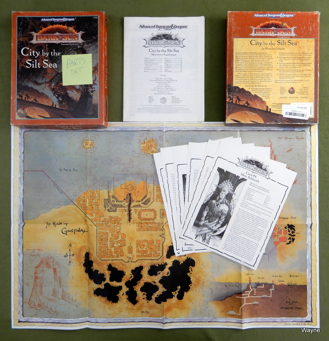 Image for City by the Silt Sea (AD&D: Dark Sun) - PARTS SET