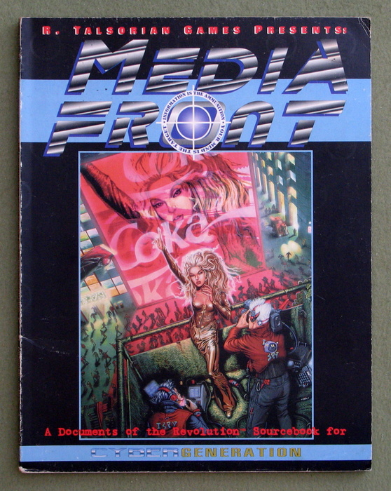 Image for MediaFront: A Sourcebook for Cybergeneration (Cyberpunk: Media Front)