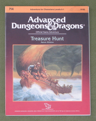 Image for Treasure Hunt (Advanced Dungeons & Dragons Module N4)