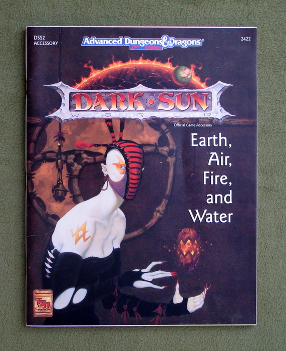 Image for Earth, Air, Fire and Water (Advanced Dungeons & Dragons: Dark Sun Setting Accessory DSS2)