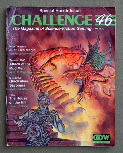 Image for Challenge Magazine, Issue 46 - LOOSE COVER