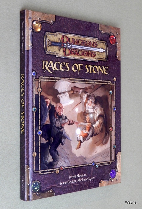 Image for Races of Stone (Dungeons & Dragons d20 3.5 Fantasy Roleplaying Supplement)