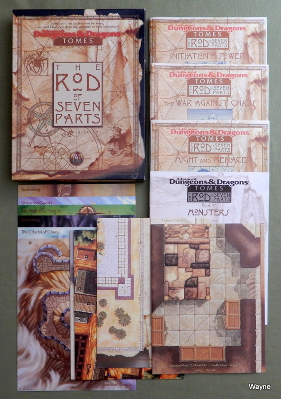 Image for The Rod of Seven Parts (Advanced Dungeons & Dragons: Tomes Accessory)