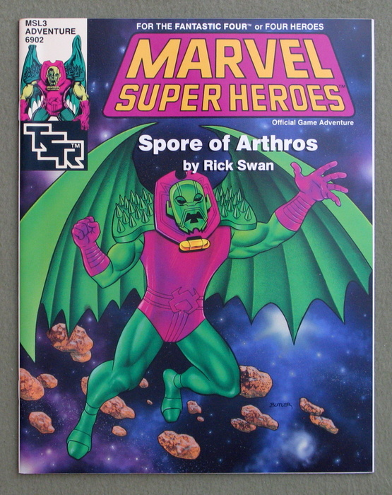 Image for Spore of Arthros (Marvel Super Heroes module MSL3)